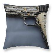 Colt 1911 Throw Pillow