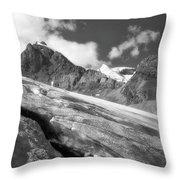 Columbia Ice Field Throw Pillow