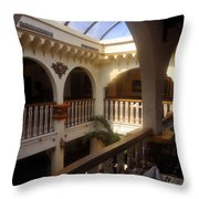 Columbia Restaurant Work Number One Throw Pillow