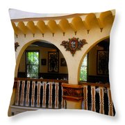 Columbia Restaurant Work Number Three Throw Pillow