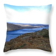 Columbia River 2 Throw Pillow