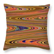 Columbia River Abstract #8045wpsws Throw Pillow