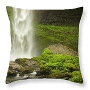 Columbia River Gorge 1 Throw Pillow