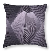 Columbia Tower Seattle Wa 2 Throw Pillow
