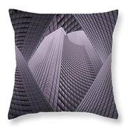 Columbia Tower Seattle Wa 2 Throw Pillow