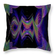 Columbia Tower Vortex 2 Throw Pillow