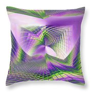 Columbia Tower Vortex 3 Throw Pillow