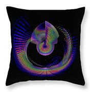 Columbia Tower Vortex 4 Throw Pillow