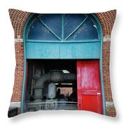Columbia Water Works Throw Pillow