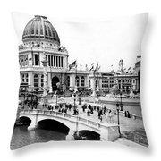 Columbian Expo, 1893 Throw Pillow