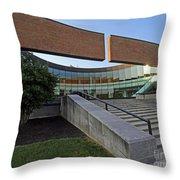 Columbus, Indiana City Hall Throw Pillow