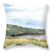 Colyer Lake Throw Pillow