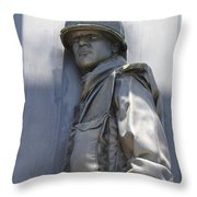 Combat Airman Throw Pillow