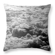 Combusting Throw Pillow