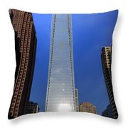 Comcast Center - Philadelphia Throw Pillow