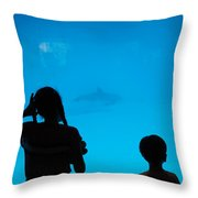 Come Back Throw Pillow