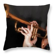 Come Blow Your Horn  ... Throw Pillow