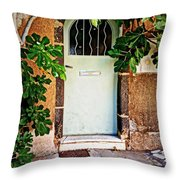 Come In Throw Pillow