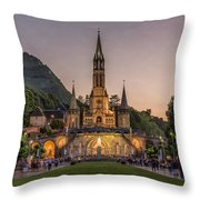 Come In Procession Throw Pillow