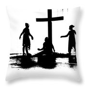 Come Let Us Worship Throw Pillow
