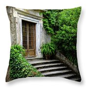 Come On Up To The House Throw Pillow