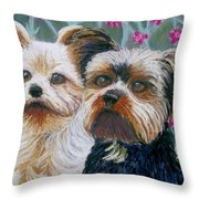 Come Play With Me Close-up Throw Pillow