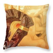 Come Round Throw Pillow