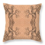 Come Together Tree 38 Hybrid 1  Throw Pillow