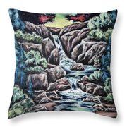 Come Walk With Me 2 Throw Pillow