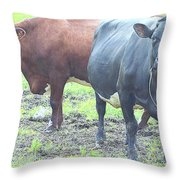 Come With Us And Get Some Milk  Throw Pillow