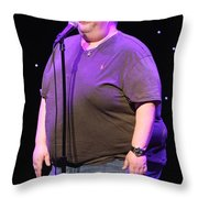 Comedian Ralphie May Throw Pillow