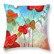 Comes The Fall Throw Pillow