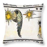 Comet, 1496 Throw Pillow