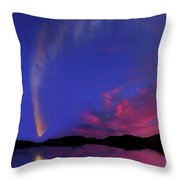 Comet Mcnaught Throw Pillow