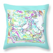 Cometogether Throw Pillow