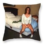 Comfort Inn Throw Pillow