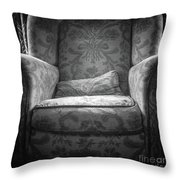 Comfy Chair By The Window Throw Pillow
