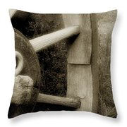 Coming Apart At The Seams Throw Pillow