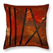 Coming Apart Throw Pillow
