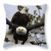 Coming At Me 4 Throw Pillow