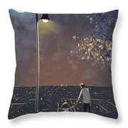 Coming Back Home Throw Pillow