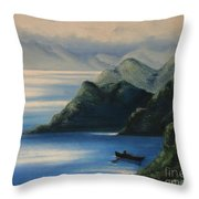 Coming Back To Life Throw Pillow