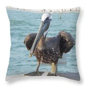 Coming For Dinner Throw Pillow