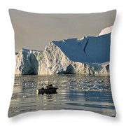 Coming Home - Greenland Throw Pillow
