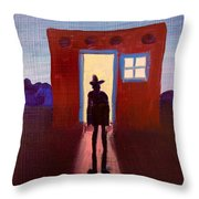 Coming Home Throw Pillow