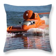 Time Trial Is Complete Throw Pillow