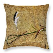 Coming Home To Mother Nature Zen Throw Pillow