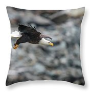 Coming In Hot Throw Pillow