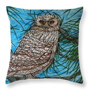 Coming Into Her Wisdom Throw Pillow