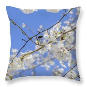 Coming Of Spring Throw Pillow